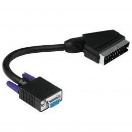 Hama adaptér SCART - D-Sub (VGA)