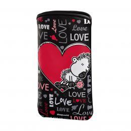 Detail produktu - Sheepworld Love all, pouzdro na mobil, velikost L