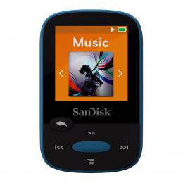 Detail produktu - SanDisk MP3 Sansa Clip Sports 8 GB modrý