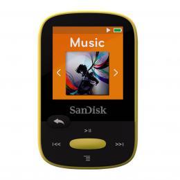 Detail produktu - SanDisk MP3 Sansa Clip Sports 8 GB žlutý