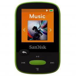 Detail produktu - SanDisk MP3 Sansa Clip Sports 8 GB limetka
