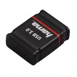 Hama FlashPen Smartly USB 3.0, 64 GB, 70 MB/s, �ern� /�erven�