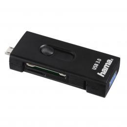 Hama èteèka SD/mSD karet USB 3.0 OTG pro smartphone/tablet