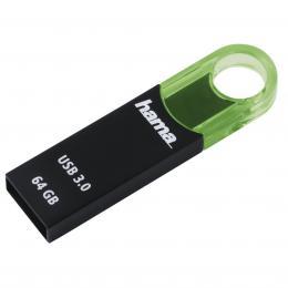 Hama FlashPen Varius USB 3.0, 64 GB, 70 MB/s, zelen�