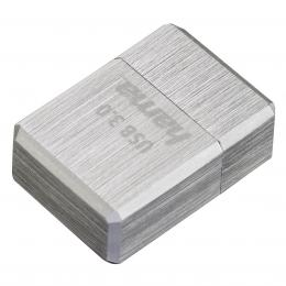 Hama FlashPen micro Cube, USB 3.0, 32 GB, 100 MB/s, st��brn�