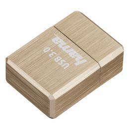Hama FlashPen micro Cube, USB 3.0, 64 GB, 100 MB/s, zlat�