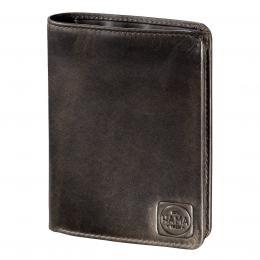 Detail produktu - Pánská kožená peněženka H4, HAMA 1923 Paris, tmavě hnědá