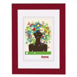 Detail produktu - Hama rámeček plastový ARONA, červený, 10x15cm