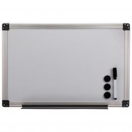 Hama bílá magnetická tabule, 60x80 cm, hliníková, støíbrná