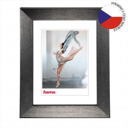 Hama rámeèek plastový PARIS, šedá, 13x18 cm