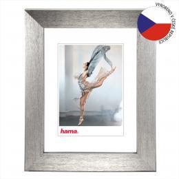 Hama rámeèek plastový PARIS, støíbrná, 13x18 cm