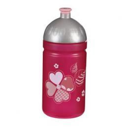 Detail produktu - Lahev na pití 0,5 l, Tvídové srdce