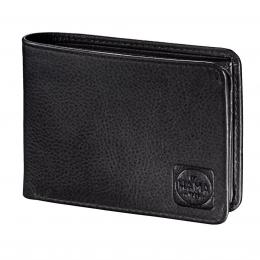 Detail produktu - Pánská kožená peněženka s ochranou dat CRYPTALOY H2C, HAMA 1923 Amsterdam, černá