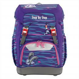 Školní batoh Step by Step GRADE Delfínci   BONUS Desky na sešity za 1,- Kè