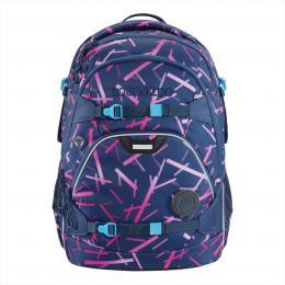 Školní batoh coocazoo ScaleRale, Cyber Pink, certifikát AGR