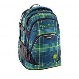 Školní batoh Coocazoo EvverClevver2, Walk The Line Lime, certifikát AGR