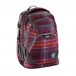 Školní batoh Coocazoo EvverClevver2, Walk The Line Purple, certifikát AGR