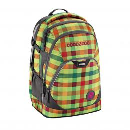 Školní batoh Coocazoo EvverClevver2, Hip To Be Square Green, certifikát AGR