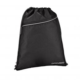 Detail produktu - Sportovní pytel na záda CoocaZoo RocketPocket, Beautiful Black