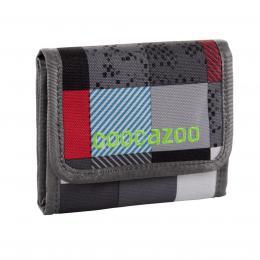 Detail produktu - Peněženka CoocaZoo CashDash, Checkmate Blue Red