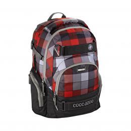 Detail produktu - Školní batoh Coocazoo CarryLarry2, Red District
