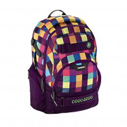 Detail produktu - Školní batoh Coocazoo CarryLarry2, Melange A Trois Pink
