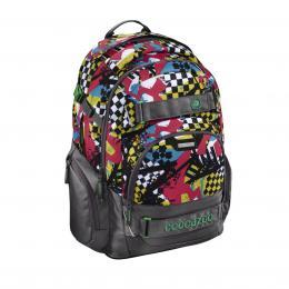 Detail produktu - Školní batoh Coocazoo CarryLarry2, Checkered Bolts