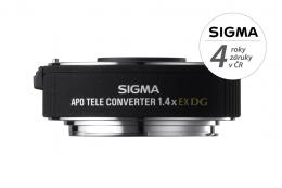 Detail produktu - SIGMA telekonvertor APO 1.4x EX DG Canon