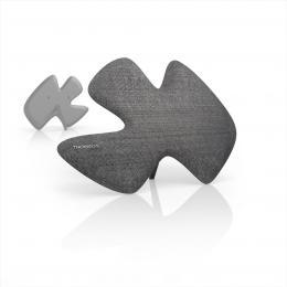 Thomson ANT1639 aktivní pokojová anténa Sculpture, DVB-T/DVB-T2, textilní povrch, šedá