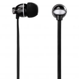 Detail produktu - Thomson sluchátka s mikrofonem EAR3204, silikonové špunty, černá