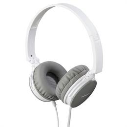 Thomson on-ear sluchátka s mikrofonem HED2207, bílá