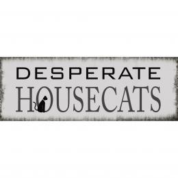 Xavax Desperate Housecats, dekoraèní tabulka na stìnu, 39x14 cm