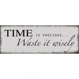 Xavax Time, dekoraèní tabulka na stìnu, 39x14 cm