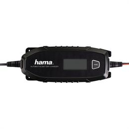 Hama automatická nabíjeèka autobaterií 6/12 V, 4 A, auto/moto/LiFePO4, regenerace, 1,2-120 Ah