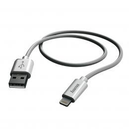 Hama MFI USB nabíjecí/datový kabel pro Apple zaøízení s Lightning vidlicí, 1 m
