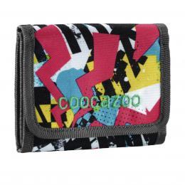 Detail produktu - Peněženka CoocaZoo CashDash, Checkered Bolts