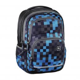 Školní batoh All Out Blaby, Blue Pixel