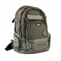 Detail produktu - Školní batoh Coocazoo CarryLarry2, Solid Woodsman