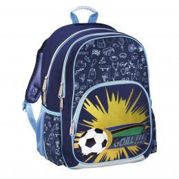 HAMA Školní batoh pro prvòáèky, Fotbal