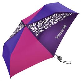 Dìtský skládací deštník, rùžová/ fialová/ modrá