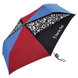 Dìtský skládací deštník, èerná/ èervená/ modrá