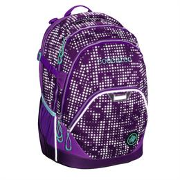 Školní batoh Coocazoo EvverClevver2, Purple Galaxy reflexní, certifikát AGR