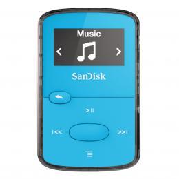 Detail produktu - SanDisk MP3 Sansa Clip JAM 8 GB jasně modrý