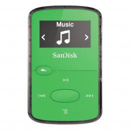 Detail produktu - SanDisk MP3 Sansa Clip JAM 8 GB jasně zelený