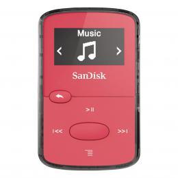 Detail produktu - SanDisk MP3 Sansa Clip JAM 8 GB jasně růžový