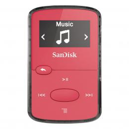 SanDisk MP3 Sansa Clip JAM 8 GB jasnì rùžový