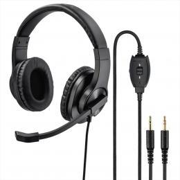 Hama PC Office stereo headset HS-P300, èerný