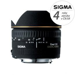 Detail produktu - SIGMA 15/2.8 EX DG FISHEYE DIAGONAL Canon