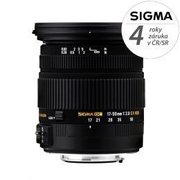 Detail produktu - SIGMA 17-50/2.8 EX DC OS HSM Canon