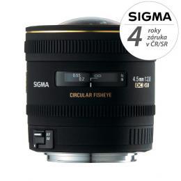 Detail produktu - SIGMA 4.5/2.8 EX DC CIRCULAR Fisheye HSM Canon